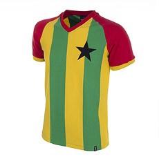 Copa Ghana 1980 Short Sleeve Retro Shirt