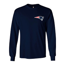 Majestic Athletic New England Patriots Longsleeve Realm of Champions navy