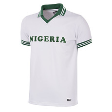 Copa Nigeria 1980 Short Sleeve Retro Shirt