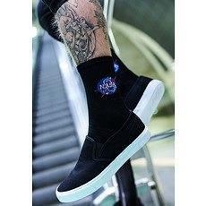 Mister Tee Socken NASA schwarz