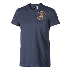 Adidas T-Shirt Badges Blau