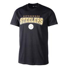 New Era Pittsburgh Steelers T-Shirt Ultra Fan schwarz