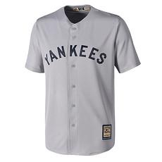 Majestic Athletic New York Yankees Cooperstown Trikot grau