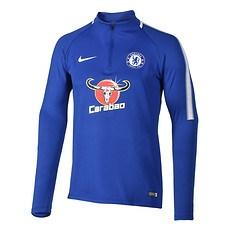 Nike FC Chelsea Langarm Shirt Training Blau