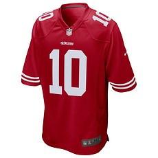 Nike San Francisco 49ers JIMMY GAROPPOLO 10 Trikot Heim 2019/2020 Rot