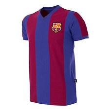 Copa FC Barcelona 1976/77 Short Sleeve Retro Shirt