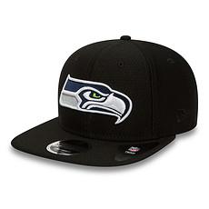 New Era Seattle Seahawks Cap Dryera Tech 9FIFTY schwarz