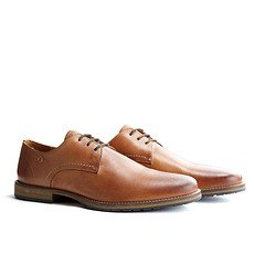 TRAVELIN OUTDOOR Schuh Manchester Leather Cognac