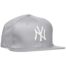 New Era New York Yankees Cap 9FIFTY Basic grau/weiß