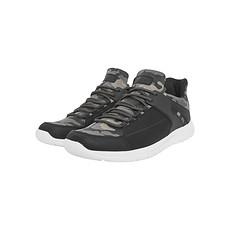 URBAN CLASSICS Sneaker Trend camo/schwarz/weiß
