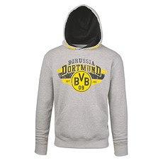Borussia Dortmund Kapuzen Sweatshirt BVB 09 Grau