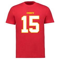 Majestic Athletic Kansas City Chiefs N&N Mahomes No 15 rot