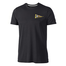 New Era Pittsburgh Steelers T-Shirt NFL Pennant schwarz