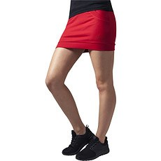 URBAN CLASSICS Skirt French Terry Damen Rot
