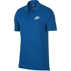 Nike Poloshirt Sportswear Basic blau