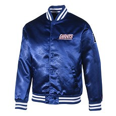 New Era New York Giants Bomberjacke Sateen F O R dunkelblau