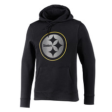 Majestic Athletic Pittsburgh Steelers Hoodie Reiser schwarz