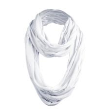 MasterDis Wrinkle Loop Schal Weiß
