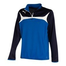Puma Trainingstop 1/4 Zip Esito 3 blau/weiß
