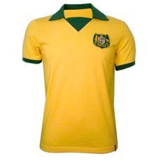 Copa Australien WC 1974 Short Sleeve Retro Shirt