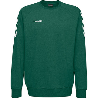 hummel Sweatshirt Cotton grün