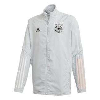 Adidas Deutschland DFB Präsentationsjacke EM 2020 Kinder Grau