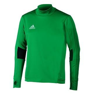 Adidas Trainingsshirt Langarm Tiro Grün