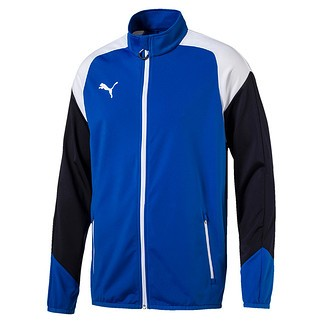 Puma Trainingsjacke Team Blau/Weiß