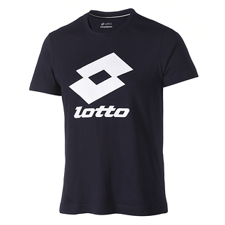 Lotto T-Shirt Smart schwarz