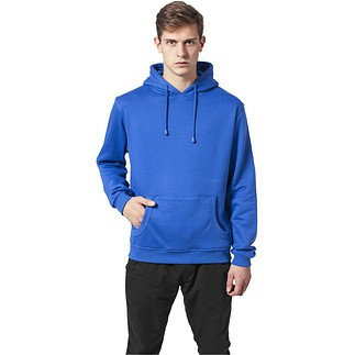 URBAN CLASSICS Hoodie Relaxed Royal