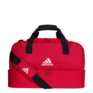 Adidas Sporttasche mit Bodenfach Tiro Größe S Rot