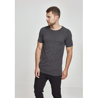 URBAN CLASSICS T-Shirt Fitted Stretch Dunkelgrau