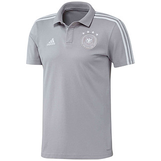Adidas Deutschland DFB Poloshirt WM 2018 Grau