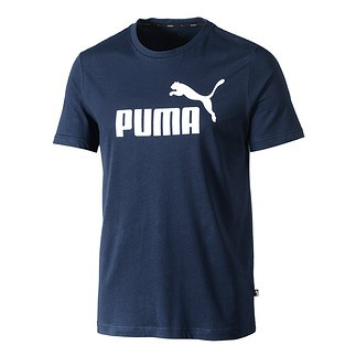 Puma T-Shirt ESS No.1 peacoat