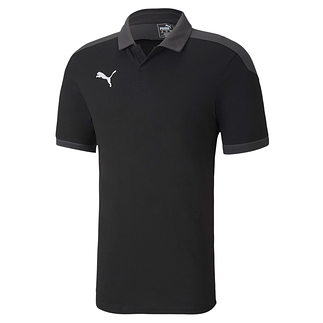 Puma Poloshirt Team FINAL 21 Schwarz