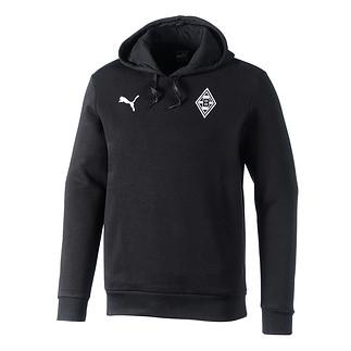 Puma Borussia Mönchengladbach Hoodie Badge schwarz