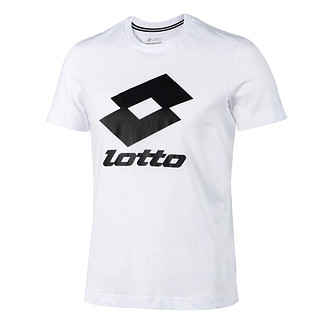Lotto T-Shirt Smart Logo weiß/schwarz