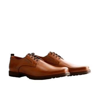TRAVELIN OUTDOOR Herrenschuh London Low cognac