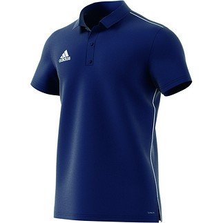 Adidas Poloshirt Core 18 Dunkelblau