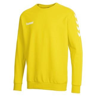 hummel Sweatshirt Core Cotton gelb