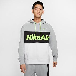 Nike Hoodie NIKE AIR Grau/Schwarz/Weiß