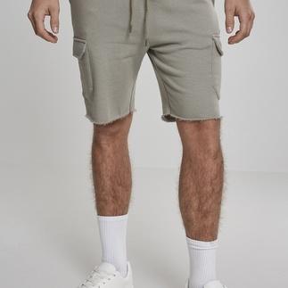 URBAN CLASSICS Shorts Open Edge Terry Cargo olive