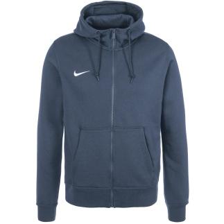 Nike Zip Hoodie Club Dunkelblau