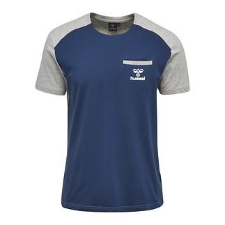 hummel T-Shirt Flint blau