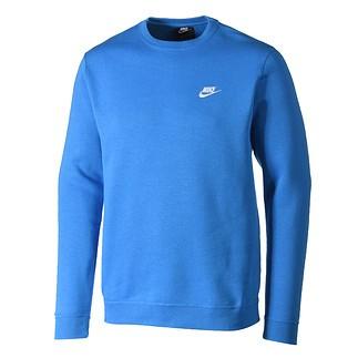 Nike Sweatshirt Sportswear Crew Blau/Weiß