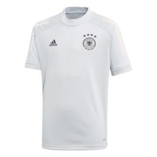 Adidas Deutschland DFB Training-Shirt EM 2020 Kinder Grau