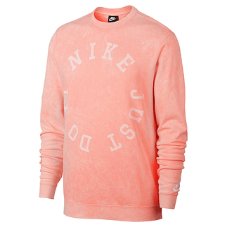 Nike Sweatshirt JDI Circle Lachs