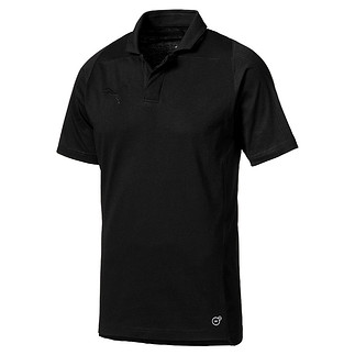 Puma Polo Shirt Casuals FINAL Schwarz