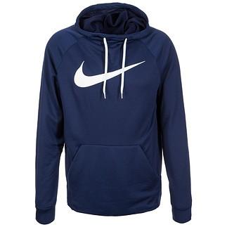 Nike Hoodie Performance Dry Fit Blau