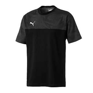 Puma T-Shirt CUP Casuals Schwarz